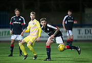 Dundee's Kerr Waddell - Dundee v Hearts in the SPFL Development League at Links Park in  Montrose : Image &copy; David Young<br /> <br />  - &copy; David Young - www.davidyoungphoto.co.uk - email: davidyoungphoto@gmail.com