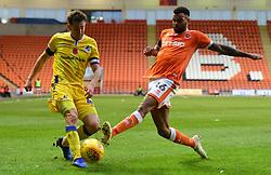 Tom Lockyer of Bristol Rovers cross is blocked by Curtis Tilt of Blackpool - Mandatory by-line: Alex James/JMP - 03/11/2018 - FOOTBALL - Bloomfield Road - Blackpool, England - Blackpool v Bristol Rovers - Sky Bet League One