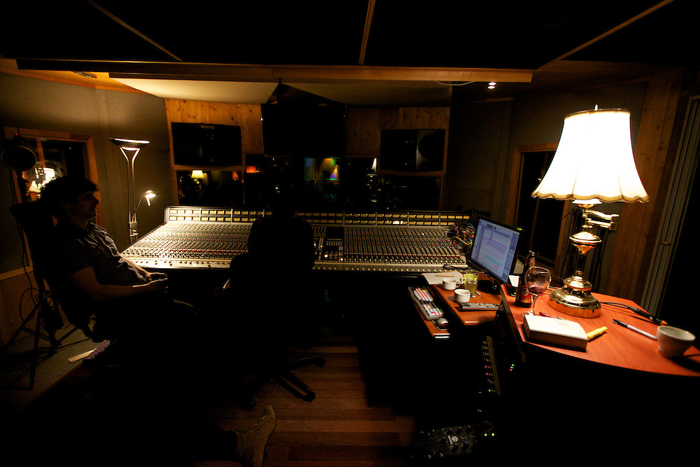 Brie Neilson records her second album at the RCA Victor Studios in Montreal, Canada on November 27th, 2011.