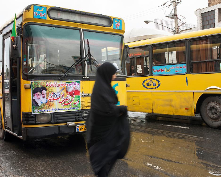 Religious propaganda designed to build the masses. Effigies are ubiquitous in Iran