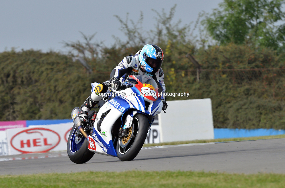 #86 Daniel Johnson Morello Racing Kawasaki Superstock 1000