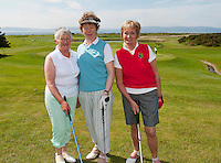 Roscommon Golf Club Margaret Brennan, Mary Lalor and Catherine Mulryan  one of the 18 golf clubs who qualified for The 2012 Ladies Irish Open Club Challenge Connaught Final battled it out at Galway Golf Club with the winning team going through to play in the Ladies Irish Open PRO-AM in Killeen Castle on August 2nd. .MORE:.The winning team Galway Golf Club of  Clodgah Hennessy, Sheelagh Kearney and Alice Murphy,  earn a once-in-a-lifetime opportunity to play with a professional at the Ladies Irish Open in August along with an over-night stay and invitation to the Gala Dinner..Over 180 clubs throughout the country, resulting in a total of 584 teams and 1,752 ladies, entered this year?s Club Challenge with 120 teams qualifying for the provincial finals. The participating clubs are competing in the fifth staging of the Club Challenge following the outstanding success of The 2011 Solheim Cup, the greatest global marquee event in ladies golf which saw Alison Nicholas? team of Europeans win back the coveted trophy by a margin of 14.5 - 12.5 in the most exciting staging of the event ever recorded, in Killeen Castle, Co. Meath..For the latest information on The 2012 Ladies Irish Open Club Challenge and to purchase tickets for The 2012 Ladies Irish Open visit www.ladiesirishopen.ie.Photo:Andrew Downes. ..