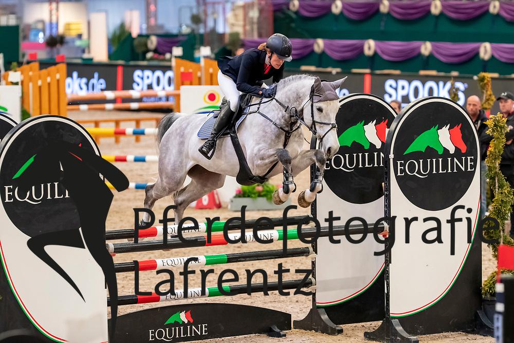 MUTH Julia (GER), Lorina<br /> Leipzig - Partner Pferd 2019<br /> SPOOKS-Amateur Trophy<br /> Small Tour<br /> 17. Januar 2019<br /> © www.sportfotos-lafrentz.de/Stefan Lafrentz