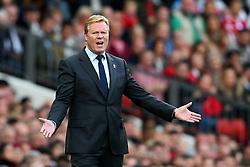 Everton manager Ronald Koeman reacts - Mandatory by-line: Matt McNulty/JMP - 17/09/2017 - FOOTBALL - Old Trafford - Manchester, England - Manchester United v Everton - Premier League