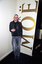 GILES DEACON at the opening of the Atelier Moet pop-up boutique, 70 New Bond Street, London on 3rd December 2008.