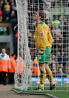 Paul McVeigh celebrates after scoring a penalty.<br /> Norwich City v Watford, Cocal Cola Championship, 21/01/06. Photo by Barry Bland