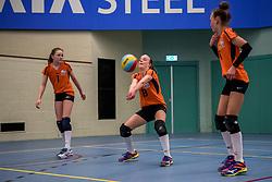 31-03-2018 NED: Finale D Volleybaldirect Open, Beverwijk<br /> 16 teams van meisjes en jongens D streden om het Nederlands Kampioenschap / Rivo