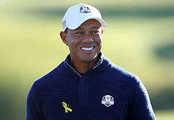 File photo dated 07-05-2019 of File photo dated 26-09-2018 of Team USA's Tiger Woods.