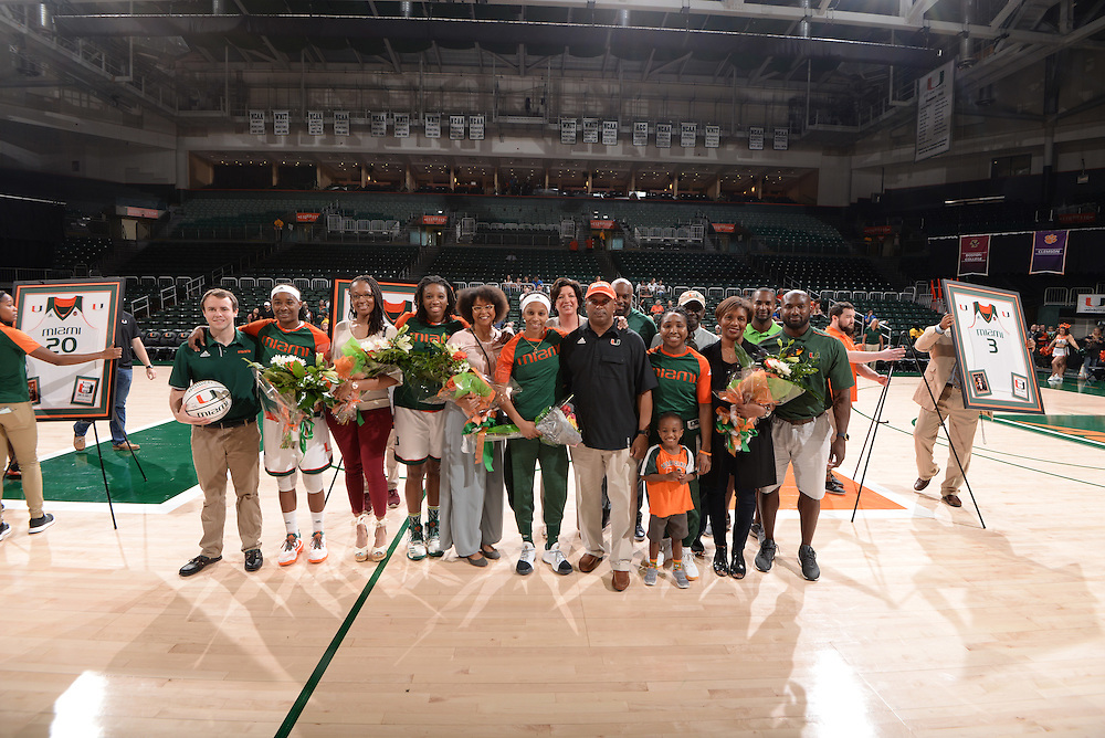 2017 Miami Hurricanes Women's Basketball vs Georgia Tech