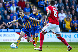 Shaun Whalley of Shrewsbury Town - Mandatory by-line: Robbie Stephenson/JMP - 13/05/2018 - FOOTBALL - Montgomery Waters Meadow - Shrewsbury, England - Shrewsbury Town v Charlton Athletic - Sky Bet League One Play-Off Semi Final
