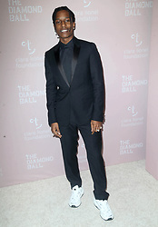September 14, 2018 - New York City, New York, USA - 9/13/18.ASAP Rocky at Rihanna''s 4th Annual Diamond Ball held at Cipriani Wall Street in New York City..(NYC) (Credit Image: © Starmax/Newscom via ZUMA Press)