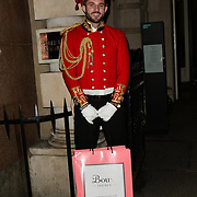 ARRIVERS BOUX AVENUE XMAS CAMPAIGN LAUNCH EVENT at SOMERSET HOUSE, on 9 November 2018, London, UK.