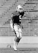 COLLEGE FOOTBALL: Stanford v San Jose State, September 24, 1984 at Stanford Stadium in Palo Alto, California.  Ed St. Geme #5.  Photograph by David Madison (www.davidmadison.com).