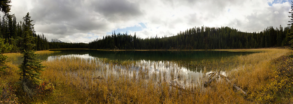 Lorraine Lake in the Maligne Valley, Jasper National Park