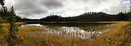 Lorraine Lake in the Maligne Valley, Jasper National Park