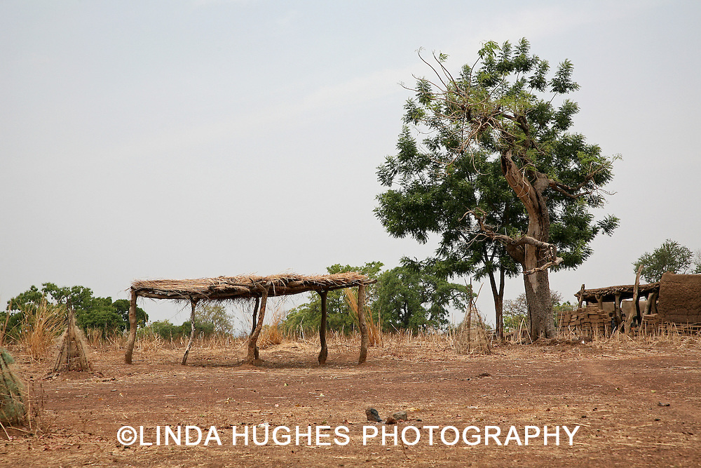 Remote Village in the Upper West Region of Ghana West Africa