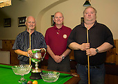 Workmans club Declan Ryan plumbing snooker final