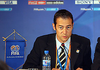 Fussball International Fussball FIFA Women «s Football Symposium PK; FIFA Pressechef Womens Worldcup 2008 Nicolas Maingot (FRA)
