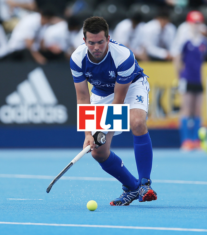 LONDON, ENGLAND - JUNE 15: Willie Marshall of Scotland  during the Hero Hockey World League Semi Final match between India and Scotland at Lee Valley Hockey and Tennis Centre on June 15, 2017 in London, England.  (Photo by Alex Morton/Getty Images)