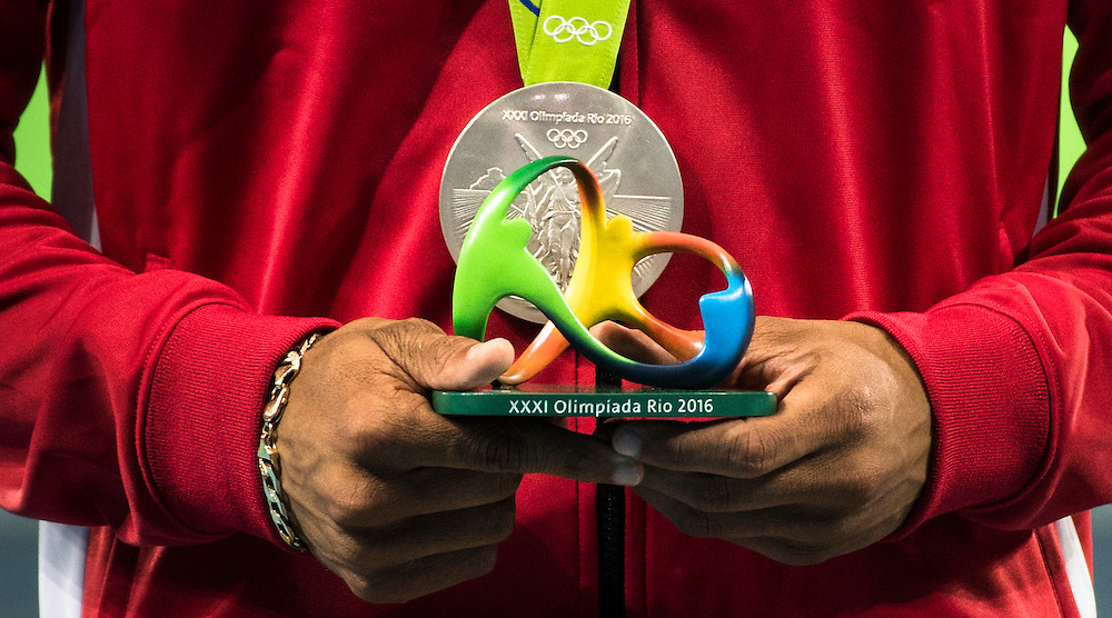 Canada finished in Bronze medal position in the 4x100m relay behind Jamaica and Japan at the Rio Olympics on August 18, 2016. The USA was disqualified for running out of their lane.