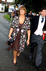 LADY ANNABEL GOLDSMITH at the wedding of Tom Parker Bowles to Sara Buys at St.Nicholas Church, Rotherfield Greys, Oxfordshire on 10th September 2005.<br /><br />NON EXCLUSIVE - WORLD RIGHTS