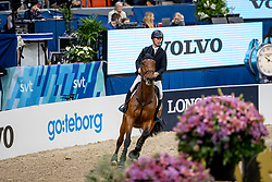 BENGTSSON Rolf-Göran (SWE), Oak Grove's Carlyle <br /> Göteborg - Gothenburg Horse Show 2019 <br /> Gothenburg Trophy presented by VOLVO<br /> Int. jumping competition with jump-off (1.55 m)<br /> Longines FEI Jumping World Cup™ Final and FEI Dressage World Cup™ Final<br /> 06. April 2019<br /> © www.sportfotos-lafrentz.de/Stefan Lafrentz