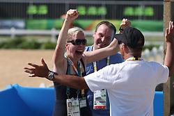 Arns-Krogmann, Christine (GER);<br /> Arns-Krogmann, Frank (GER);<br /> Hilberath, Jonny (GER) <br /> Rio de Janeiro - Olympische Spiele 2016<br /> © www.sportfotos-lafrentz.de