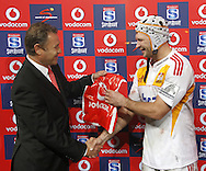 JOHANNESBURG, SOUTH AFRICA - 23 April 2011: Scott Waldrom of the Chiefs man of the match during the Super Rugby Match between the MTN Lions and the Chiefs held at Coca Cola Park Stadium, Johannesburg, South Africa. Photo by Dominic Barnardt