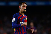 Philippe Coutinho of FC Barcelona during the Spanish championship La Liga football match between FC Barcelona and Real Sociedad on May 20, 2018 at Camp Nou stadium in Barcelona, Spain - Photo Andres Garcia / Spain ProSportsImages / DPPI / ProSportsImages / DPPI