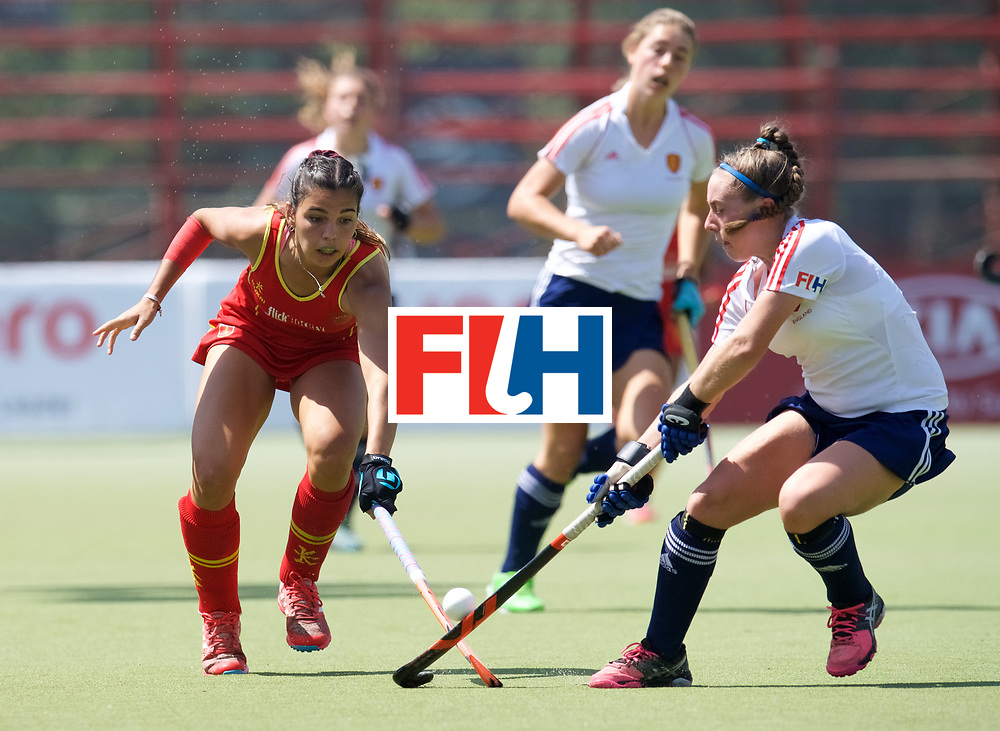 SANTIAGO - 2016 8th Women's Hockey Junior World Cup<br /> ESP v ENG (QF)<br /> foto: <br /> FFU PRESS AGENCY COPYRIGHT FRANK UIJLENBROEK
