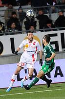 FOOTBALL - FRENCH CHAMPIONSHIP 2010/2011 - L1 - AS NANCY v AS SAINT ETIENNE - 27/11/2010 - PHOTO GUILLAUME RAMON / DPPI - JULIEN FERET (NANCY)