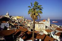 Portugal - Lisbonne - Quartier de l'Alfama