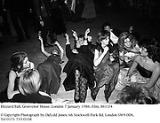 Blizzard Ball. Grosvenor House. London 7 January 1986. Film. 8611f4<br />