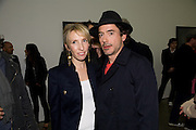 ROBERT DOWNEY JNR; SAM TAYLOR WOOD,. Yes 1 No. Sam Taylor Wood. White Cube. Mason's Yard. London. 23 October 2008 *** Local Caption *** -DO NOT ARCHIVE -Copyright Photograph by Dafydd Jones. 248 Clapham Rd. London SW9 0PZ. Tel 0207 820 0771. www.dafjones.com