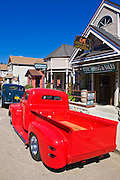Classic cars and downtown galleries, Cambria, California