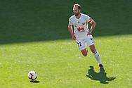 MELBOURNE, VIC - JANUARY 20: Wellington Phoenix defender Andrew Durante (22) runs the ball during the Hyundai A-League Round 14 soccer match between Melbourne Victory and Wellington Phoenix at AAMI Park in VIC, Australia on 20th January 2019. Image by (Speed Media/Icon Sportswire)