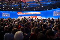 DEU, Deutschland, Germany, Berlin, 07.12.2017: Publikum und Delegierte beim Bundesparteitag der SPD im CityCube.