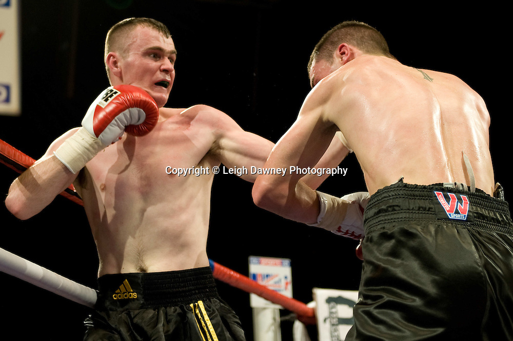 Martin Welsh defeats Terry Fletcher at Brentwood Centre 22nd January 2010, Frank Maloney Promotions,Credit: © Leigh Dawney Photography