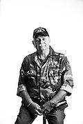 Bob Curnick<br /> E-4<br /> Security Forces<br /> NKP Thailand (Sept. 1973-1974)<br /> Jun. 8, 1972 - Jun. 8, 1976<br /> <br /> Veterans Portrait Project<br /> 802d Security Forces Squadron<br /> San Antonio, TX