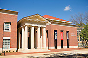 OXFORD, MS - APRIL 12:   Holman Hall and Arrival Pavilion on the campus of the University of Mississippi on April 12, 2008 in Oxford, Mississippi.  (Photo by Wesley Hitt/Getty Images) *** Local Caption ***