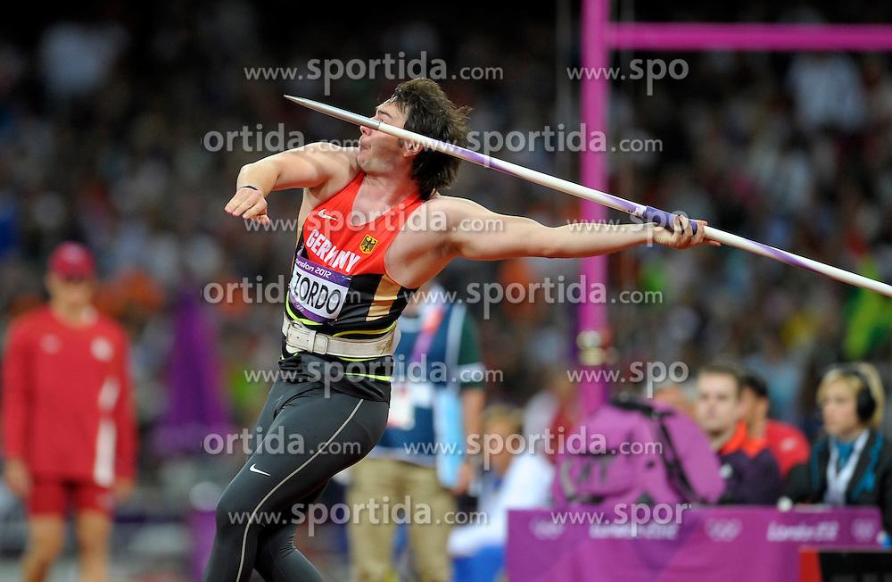 Olympic Games London 2012,.Germany's Matthias de Zordo (GER).© pixathlon
