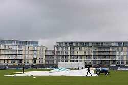 Play stops for rain - Mandatory byline: Dougie Allward/JMP - 07966386802 - 24/09/2015 - Cricket - County Ground -Bristol,England - Gloucestershire CCC v Glamorgan CCC - LV=County Championship - Division Two - Day Three