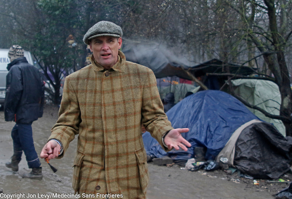 Grande Synthe, Dunkirk: A Gill visits the refugee camps of Calais and Grande Synthe in Dunkirk.