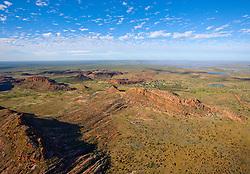 The Aboriginal community of Looma lies nestled behind Grant's Range on the Fitzroy Floodplain.