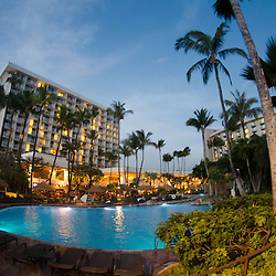 Swimming Pool at Westin Resort, Kaanapali Beach, Maui, Hawaii, US