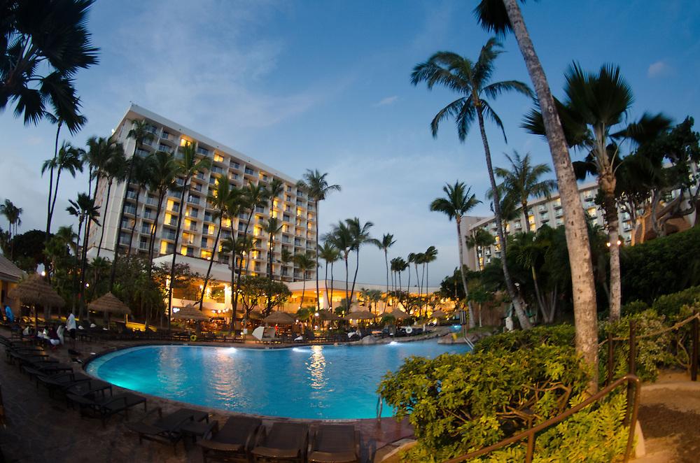 Swimming Pool at Westin Resort, Kaanapali Beach, Maui, Hawaii, US