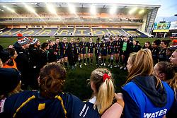 Worcester Warriors Women huddle - Mandatory by-line: Robbie Stephenson/JMP - 01/12/2019 - RUGBY - Sixways Stadium - Worcester, England - Worcester Warriors Women v Bristol Bears Women - Tyrrells Premier 15s
