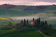 Tuscany Hills in Orcia Valley