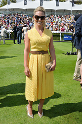 GEORGIE THOMPSON at the 2014 Glorious Goodwood Racing Festival at Goodwood racecourse, West Sussex on 31st July 2014.