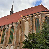 Monastery of the Holy Cross Church in Rostock, Germany<br />